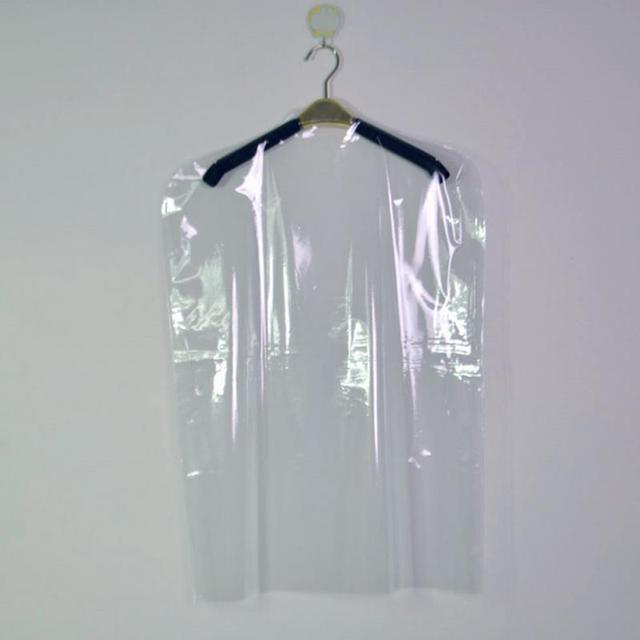 Transpa Garment Covers Clothes Suit Dress Dry Cleaner Bags Dust Cover Cleaners Hanging Bag