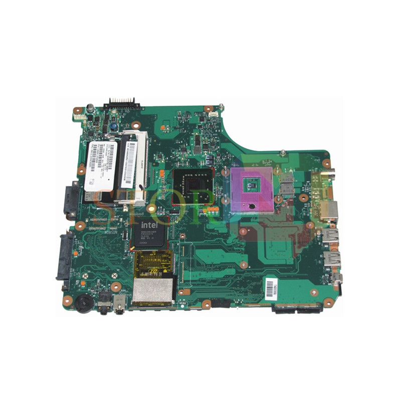 NOKOTION for toshiba satellite A305 laptop motherboard V000125000 GM965 DDR2 nokotion laptop motherboard for toshiba satellite a300 a300d v000125610 intel gm965 integrated gma 4500mhd ddr2