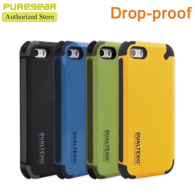 Puregear dualtek original al aire libre extrema antichoque caso de shell para iphone se/5s con el empaquetado al por menor envío gratis