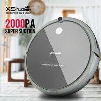 XShuai HXS G1 Пылесосы для автомобиля Робот беспроводной 2000 PA Супер всасывания Авто перезарядки гироскопа навигации развертки перетащите д