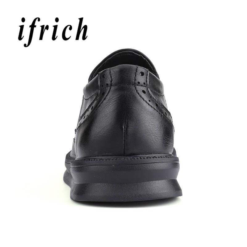 Oxford Clásico Calzado Hombre Slip Black De Hombres brown Pisos Bajos  Zapatos Los Superior Cuero Negocios on Moda Vestir Casuales rqrCOzg 4ce04e7a2556