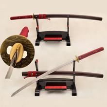 Traditional Hand Forged Japanese Samurai Sword Katana 9260 Spring Steel Full Tang Blade Very Sharp Japan