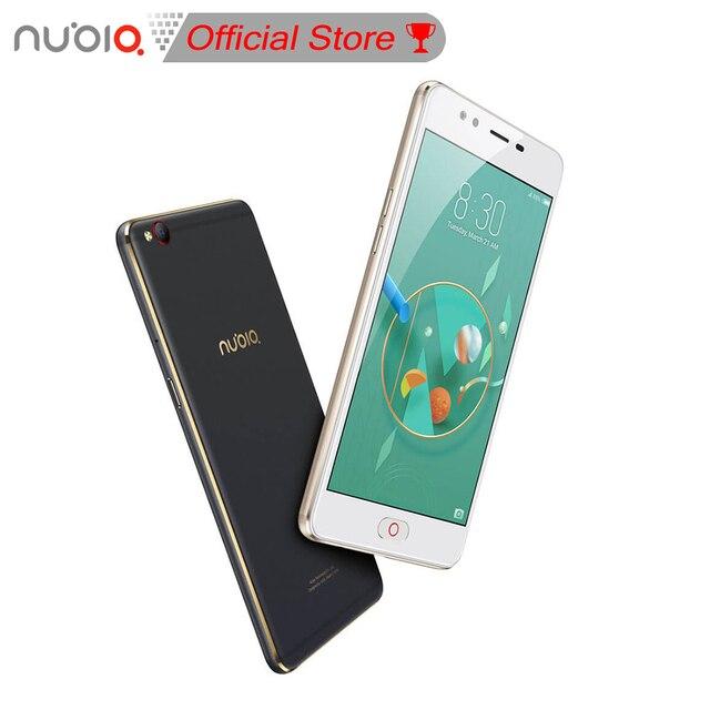 Nubia М2 Lite 5.5 дюймов MT6750 Quad Core 1.5 ГГц Смартфон 4 ГБ + 32 ГБ/3 ГБ + 64 ГБ 16.0MP Отпечатков Пальцев ID 4 Г LTE 3000 мАч Мобильного Телефона