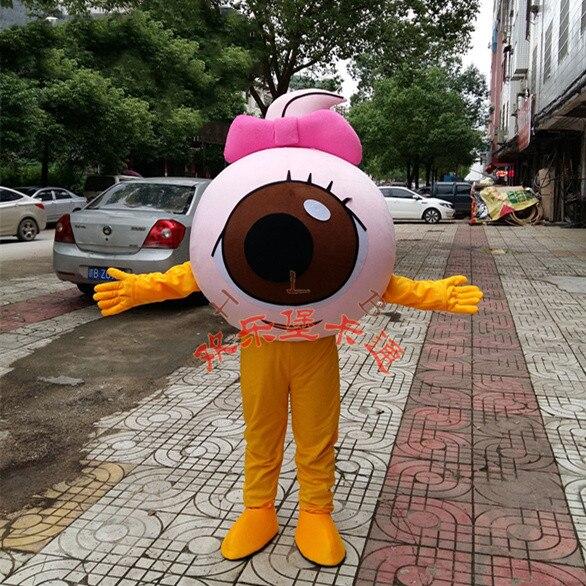Прямые поставки с фабрики; Модное нарядное платье с большими глазами; Костюм талисмана; Карнавальный костюм на Хэллоуин; Вечерние рекламные