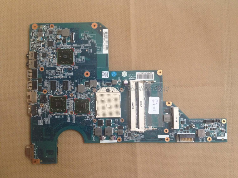 45 days Warranty for hp CQ62 G62 610161-001 laptop Motherboard for AMD cpu with ATI HD5430 DDR3 integrated graphics card 45 days warranty for hp cq62 g62 610161 001 laptop motherboard for amd cpu with ati hd5430 ddr3 integrated graphics card