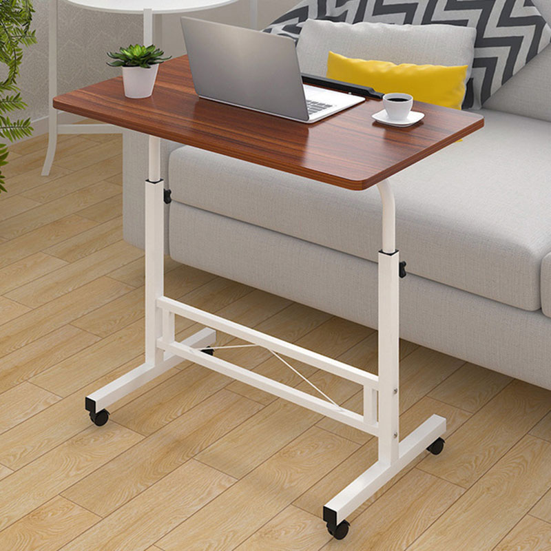 Peachy Us 82 55 52 Off Adjustable Computer Desk Simple Mobile Lifting Laptop Table With Wheels Wood Laptop Table Beside Bed Sofa In Laptop Desks From Download Free Architecture Designs Xoliawazosbritishbridgeorg