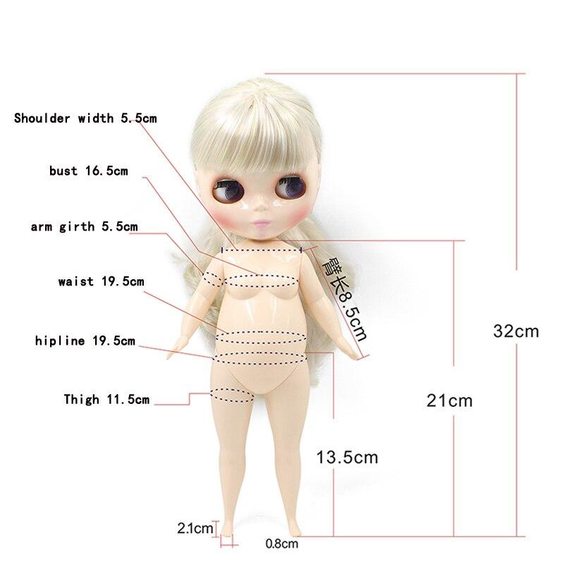 19 Poupées Nude Body Doll pour 12inch RBL Neo Blythe Azone Takara