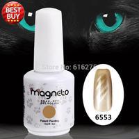 36 шт. кошачий Средства ухода для век Гель лак Бесплатная доставка Магнитная Дизайн ногтей 15 мл 0.5 унц. УФ Магнитная гель uv гель клей для ногте
