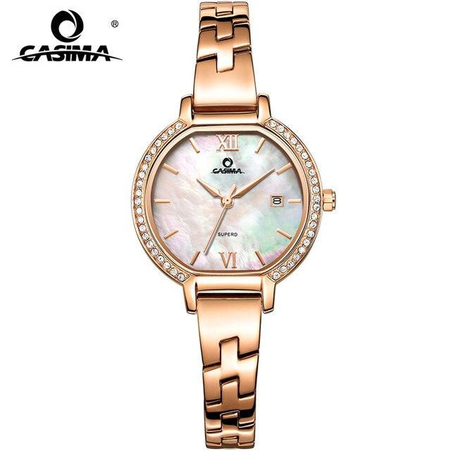2018 CASIMA Элитный бренд Для женщин браслет Часы Montre Femme Мода Повседневное женские кварцевые часы Relojes Mujer подарок 2614
