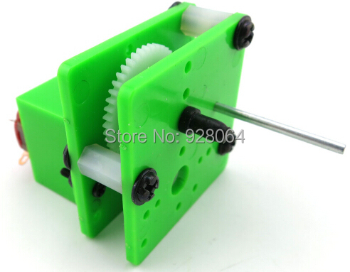 C4 gear motor production suite / physical experimental materials / 130 motor reducer gearbox / DIY model accessories