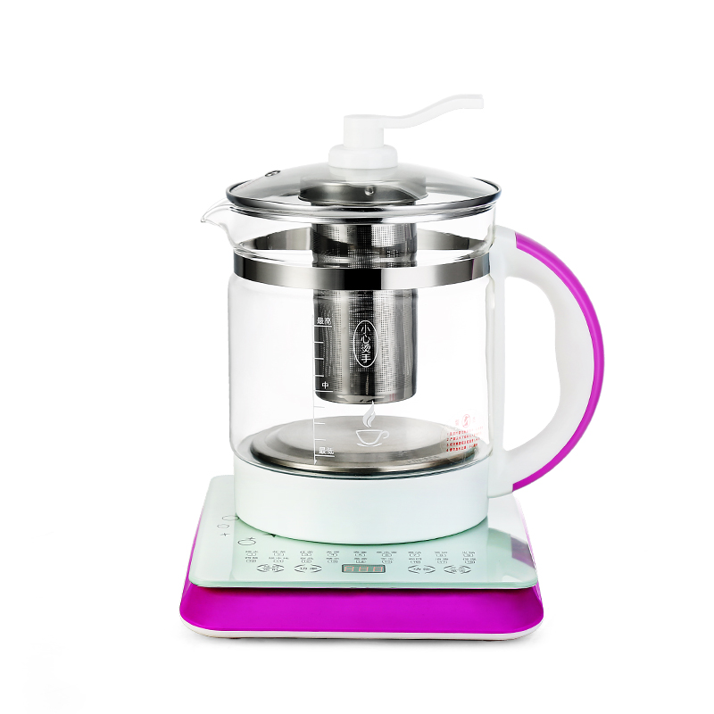 Health Pot Mini Automatic Thickening Glass Multi-purpose Tea Kettle Flower Tea Pot Boiling Pot Electric Kettle health pot mini automatic thickening glass multi purpose tea kettle flower tea pot boiling pot electric kettle