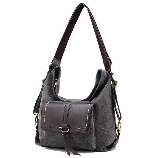2017 Saco de Lona Das Mulheres Do Vintage Bolsas Femininas sacos Crossbody para Mulheres Bolsas Bolsas de Ombro Casual de Alta Qualidade bolsa feminina