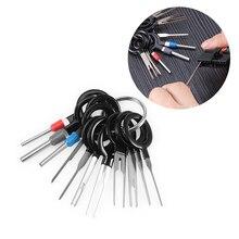FURUIX pdr инструменты 11* Терминал инструмент для удаления автомобиля электрическая проводка обжимной разъем контактный экстрактор комплект