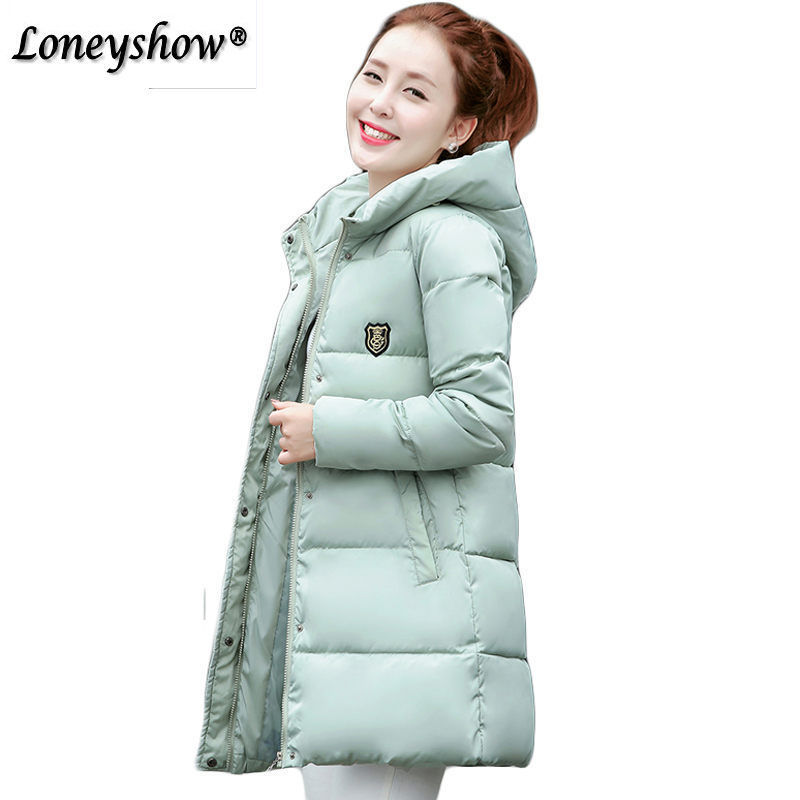 Warm Winter Jackets Women Fashion Down Cotton Parkas Casual Hooded Long Coat Thickening Zipper Slim Fit Plus Size Long Parka warm winter jackets women fashion cotton parkas casual hooded long coat thickening parka zipper cotton slim outwear plus size