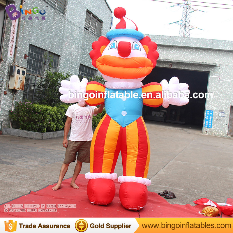 Funny 3M Tall giant inflatable clown 10 feets inflatables jester toys clown dolls for outdoor advertisement funny summer inflatable water games inflatable bounce water slide with stairs and blowers