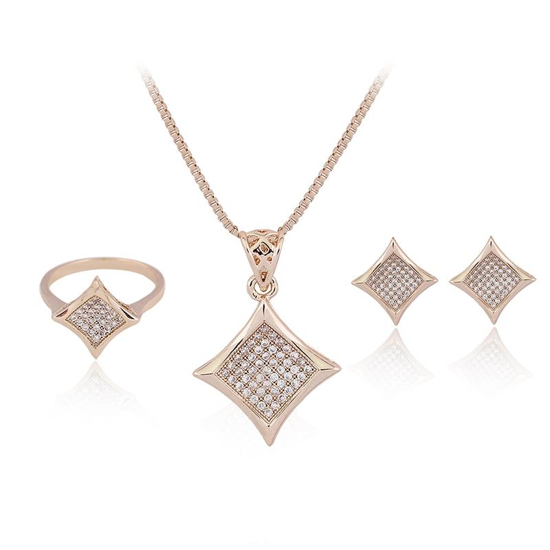 CZ parure bijoux Femme Maxi vestido Accesorios joyería Austria cristal  COLLAR COLGANTE Pendientes boda Juegos de joyería c54f66545ba