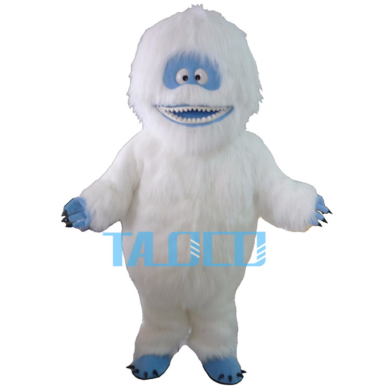 Прямые продажи с фабрики йети abominable snowman Маскоты костюм нарядное платье Бесплатная доставка