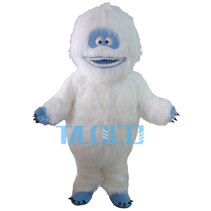 Usine Directe vente Yeti Abominable Bonhomme De Neige Costume De Mascotte Fantaisie Robe Libèrent Le Bateau