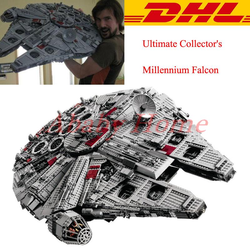 font b LEPIN b font 05033 5265Pcs Star Wars Ultimate Collector s Millennium Falcon Building