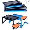 SUFEILE Super Populaire Laptop Bureau 360 Graden Verstelbare Folding Laptop Notebook PC Bureau Tafel Goud Stand Portable Bed Tray D5