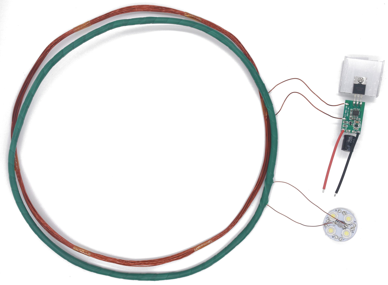 1 Meter DC Long Distance Wireless Power Supply Charging Module Chip Scheme Wireless Transmission Module XKT801-05 цена