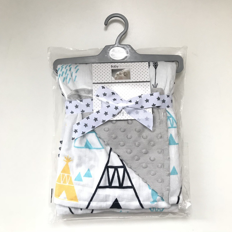 120*75CM Minky Blanket For Newborns Flannel Fleece Blanket Infant Swaddle Receiving Stroller Wrap Soft Kid Bedding Blanket Cover soft fleece blanket on the bed 100x150cm size flannel blanket white crossed grid thick bedspread polyester modern bed covers