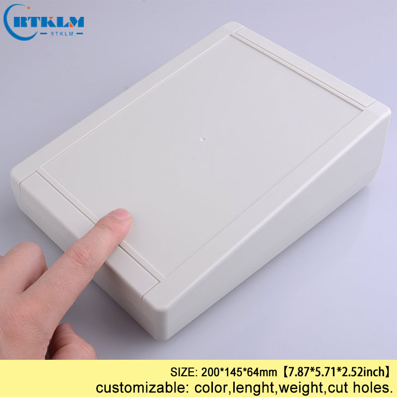 Wall mounting plastic box DIY instrument case ABS plastic enclsoure electric box Small Plastic junction box