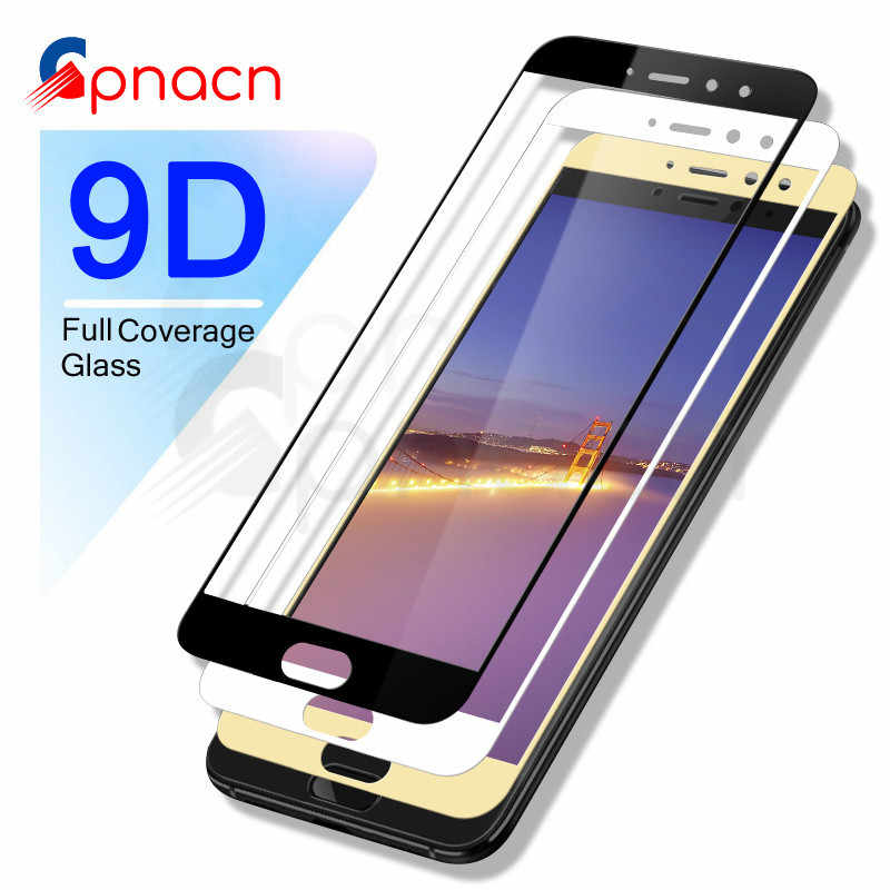 9D Full Cover Tempered Glass on The For Meizu M5 M5S M5C M6 M6S M3 M5 M6 Note M6T Pro 6 7 Plus Screen Protector Glass Film Case