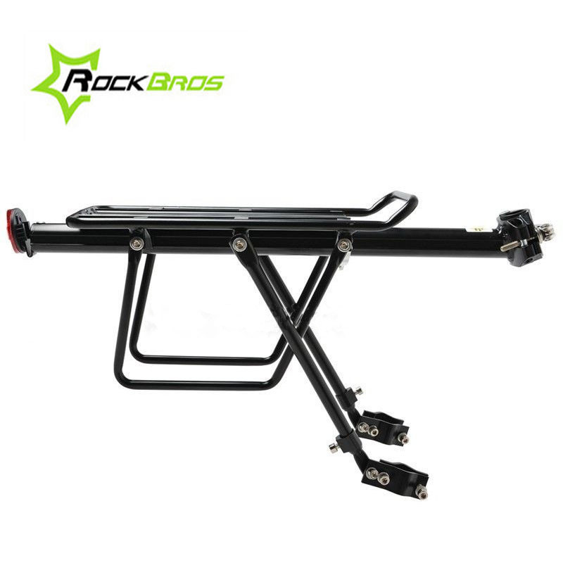 ROCKBROS Quick Release Bicycle Rack MTB Mountain Bike Rack Carrier Rear Luggage Cycling Seat Shelf For V-brake & Disc Brake цена 2017
