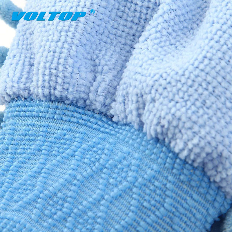 Image 5 - 2pcs Car Cleaning Gloves Auto Washing Towel Microfiber Wash Brush Clean Duster Vehicle Home Office Sponges Coral Cloth Care Tool-in Sponges, Cloths & Brushes from Automobiles & Motorcycles