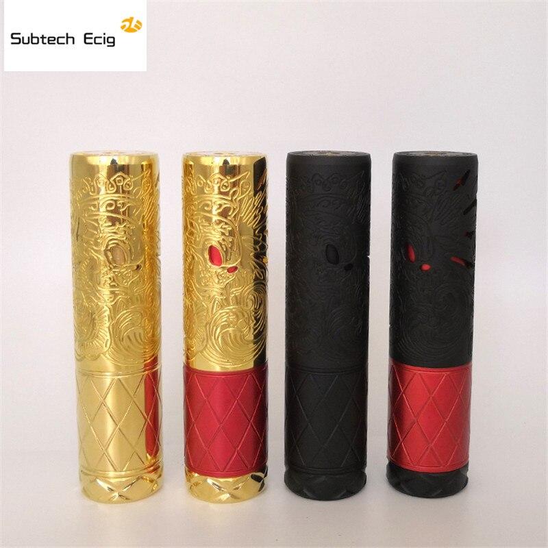 Date Suicide roi mécanique Mod Fit 18650 20700 Mech MOD 25mm diamètre 510 connexion en laiton matériel vape stylo