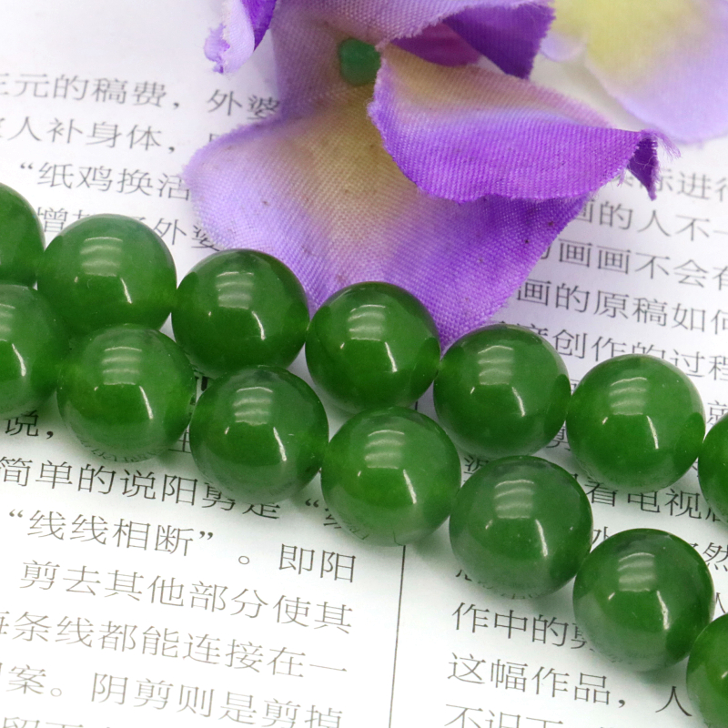 New Green Aventurine 10mm  round DIY loose beads stone 15 inches women Suitable for jewelry making design gift wholesale