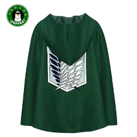 Survey Corps Attack on Titan Cosplay Clothes Cloak Wings of Liberty Cloak Mikasa