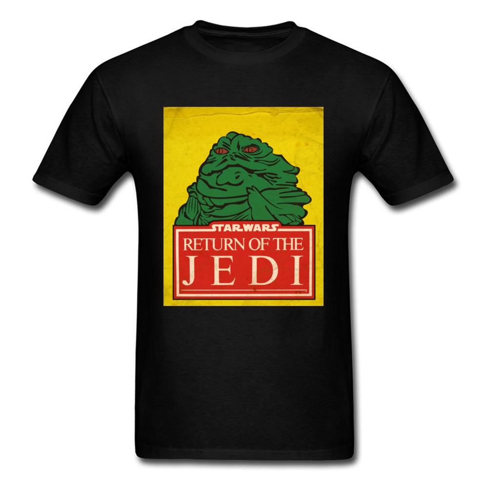 Darth Maul Men T Shirt Star Wars Retro Jabba Jedi Tshirt Green Scene Print Patterns Make Family T-Shirts Crazy Rock Misfits