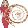 Shocking Show Women's Lady Fashion Snake Bones Metal Chain Style Belt Body Chain