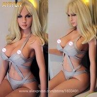 AYIYUN жизни Размеры секс кукла блондинка Красота сексуальная девушка большая грудь реалистичные куклы любовь с скелетом устные, вагинальный,