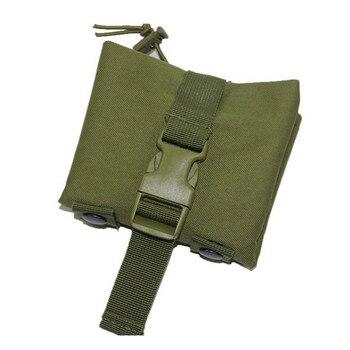 التكتيكية للطي تفريغ قطرة الحقيبة مول بروتابلي الذخيرة الحقيبة مجلة إعادة تحميل أكياس الصيد العسكرية لحقيبة الظهر حزام 600D النايلون