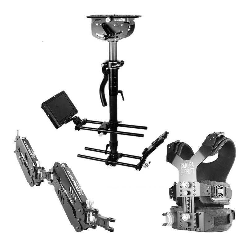 LAING M35II Load 16kg professional Carbon Fiber Video camcorder Steadicam stabilizer Steadycam photography Vest Dual Support Arm