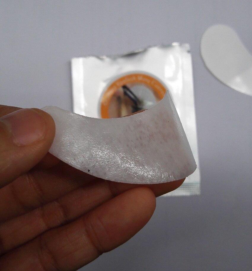 50 пар безворсовой шелк глазу ресниц Инструмент питания Спецодежда медицинская Клейкие ленты ресниц Клейкие ленты гель для глаз колодки