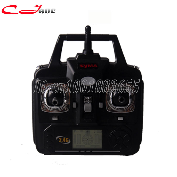 Free shipping Wholesale 100% New Original SYMA X5C spare parts Transmitter  for SYMA X5C 2.4G 4CH RC Remote Control Quadcopter syma transmitter remote control for syma x5c x5 x5c 1 rc helicopter drone quadcopter accessories spare parts