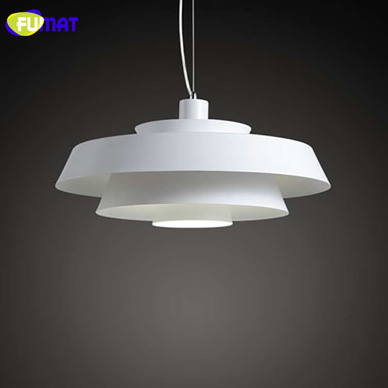 FUMAT Hanglamp Wit Ijzer Opknoping Lichten Eenvoudige Eetkamer ...