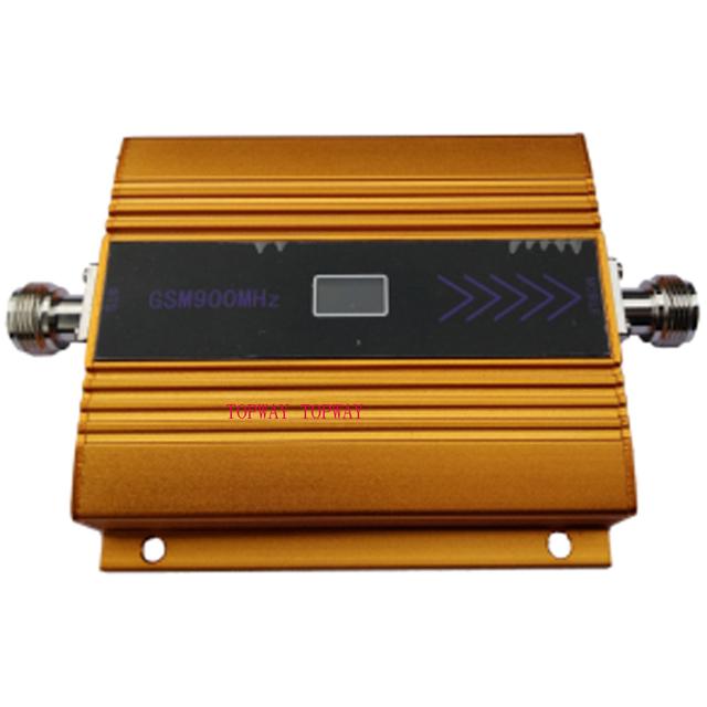 Mini GSM repetidor gsm amplificador de señal móvil, 900 mhz GSM amplificador de señal con la exhibición del LCD adaptador de corriente