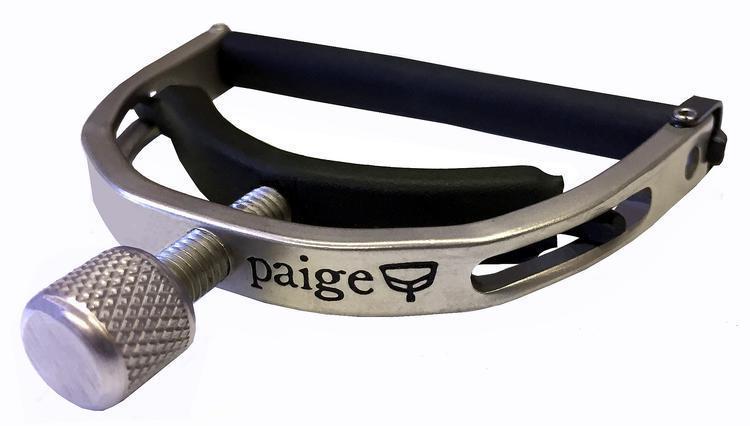 Paige P-6N 6-string Standard Capo - Satin Nickel люстра n light usagi p 809 5a satin gold