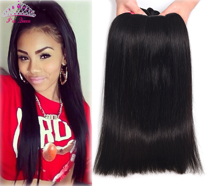 7A Malaysian Virgin Hair Straight 4Bundles Unprocessed Malaysian Straight Hair No shedding Malaysian Straight Human Hair