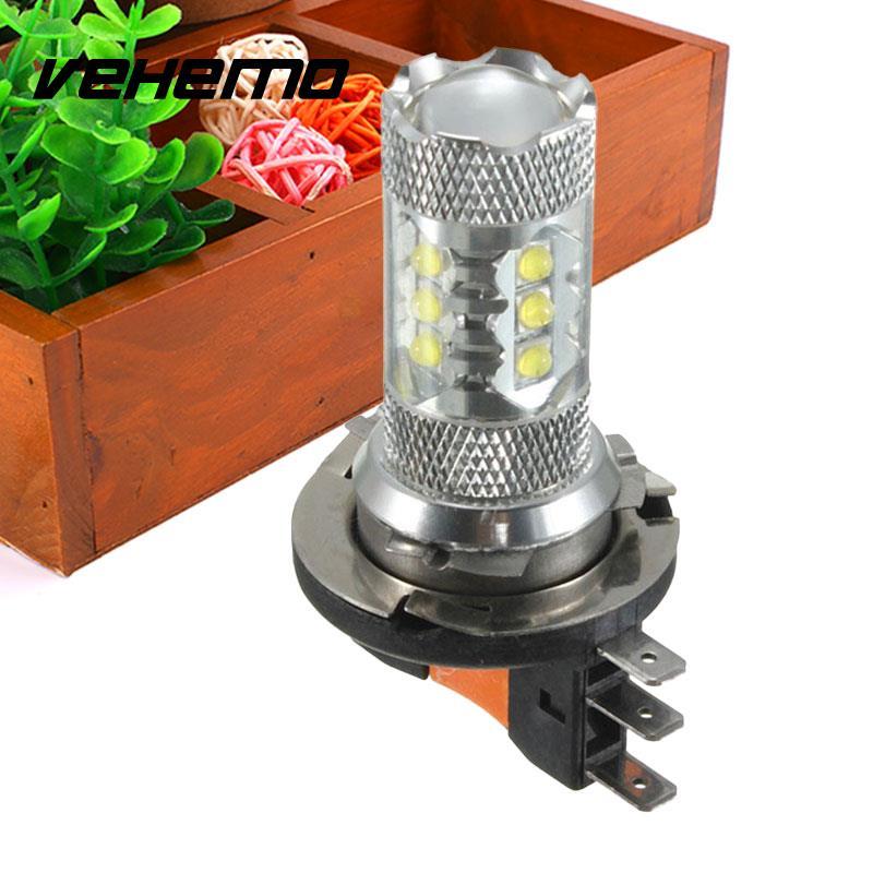 Vehemo H15 80W Car Vehicle 16 LED Bulb Fog DRL Driving Light Lamp For VW Golf