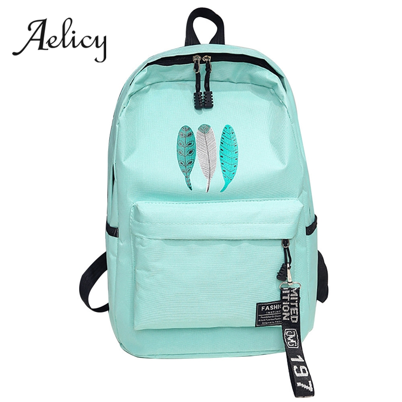 Aelicy Women Preppy School Bags For Teenagers Female Canvas Travel Bags Japanese Style Women Backpack Laptop Bagpack Back Pack