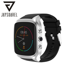 JAYSDAREL X02S Android Dual Core Smart Watch Curved Screen Support Sim Card GPS Camera Bluetooth Sport Watch For Android IOS