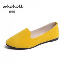 Women's Flats 2019 Women Shoes Candy Color Woman Loafers Spring Autumn Flat Shoes Women Zapatos Mujer Summer Shoes Size 35-43 2018 big size women flats candy color woman loafers spring autumn flat shoes women zapatos mujer plus size 35 40