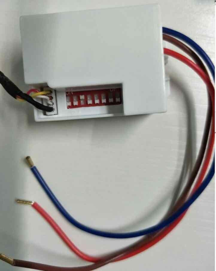 Новинка, высокое качество, переменный ток, 220 В, инфракрасный PIR ИК датчик движения, переключатель, светодиодный светильник, лампа, 800 Вт, Макс.