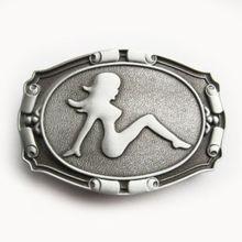 wholesale Girl Rider Belt Buckle  Low price custom metal belt buckle hot sales cheap